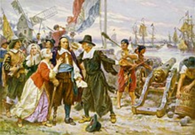 New Amsterdam was founded