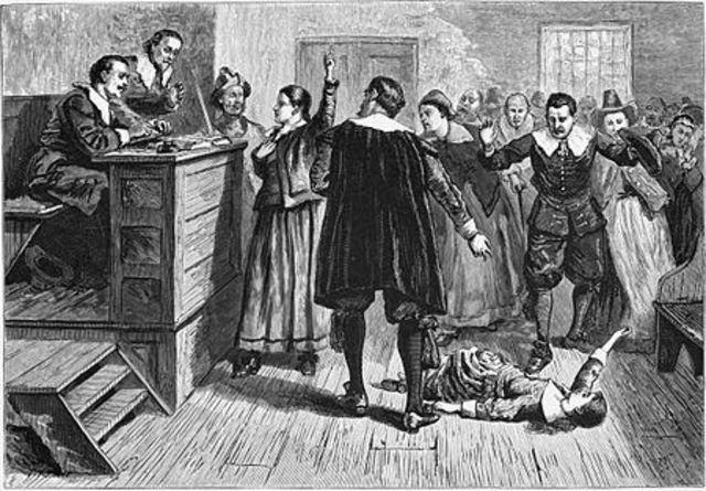 Salem Witch Trials.