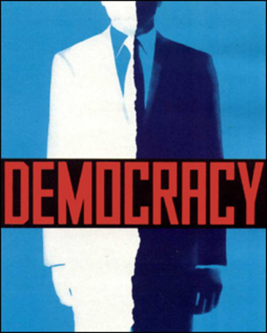India becomes a democracy