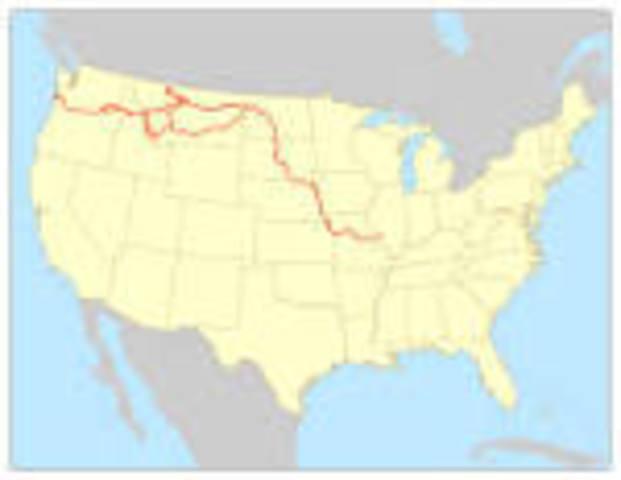 Lewis & Clark's Journey through The West