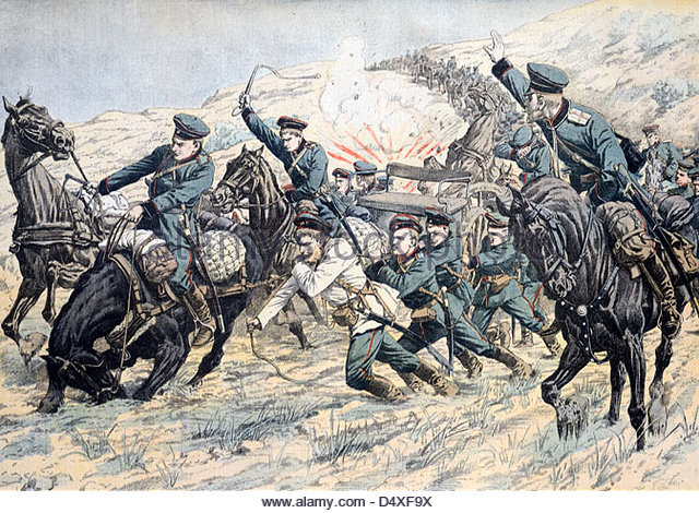 Korean Manpower exploited to support Manchurian War