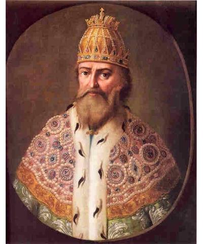 Ivan IV is crowned prince