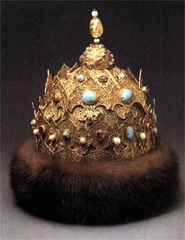 Ivan IV is crowned Czar