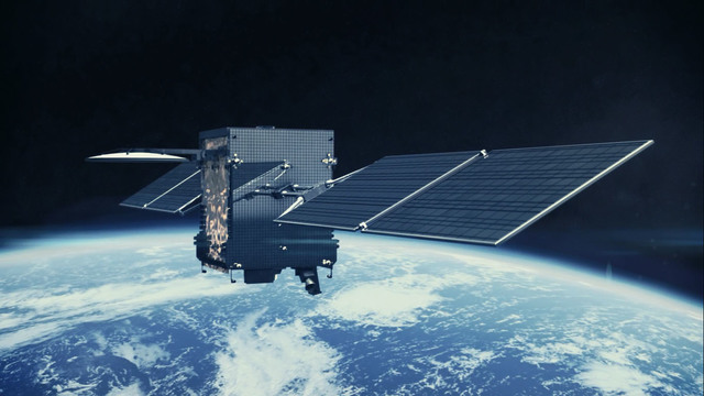 Primer satélite en órbita estacionaria