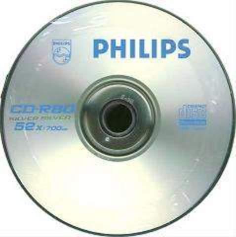 Primer CD de Sony y Phillips