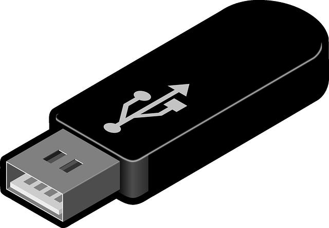 Creación de la memoria USB