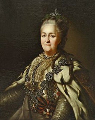 Reign of Catherine the Great Begins