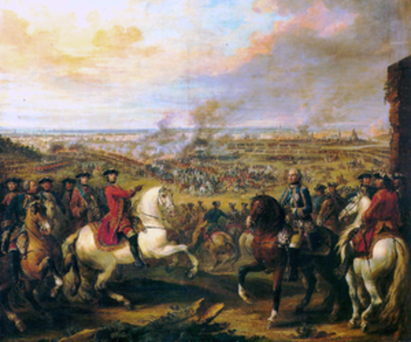 War of Austrian Succession ends