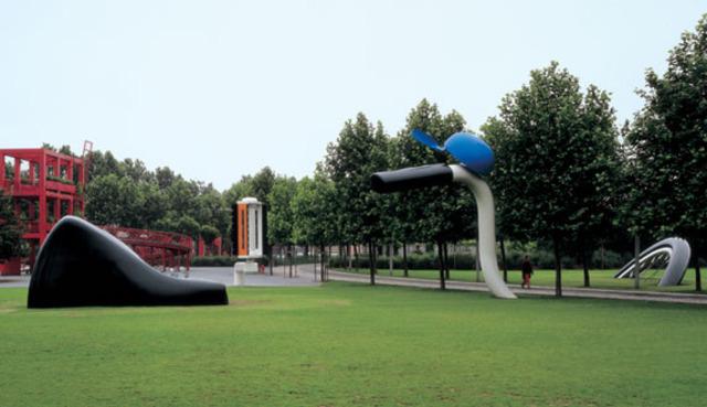 Claes Oldenburg - La bicyclette ensevelie