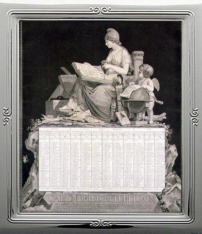 Se adopta el calendario revolucionario