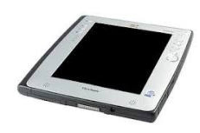 Первый планшетный компьютер