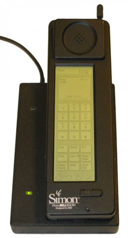 Первый смартфон