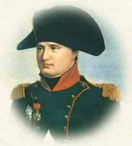 Bonaparte sofoca un levantamiento monárquico en París