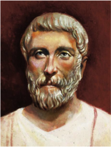 Pythagoras Born in Samos