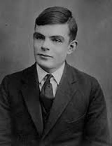 15 de septiembre de 1936 la máquina de Alan M. Turing