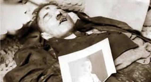 La muerte de adolf hitler