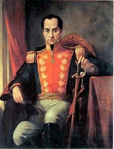 dictadura de Bolivar