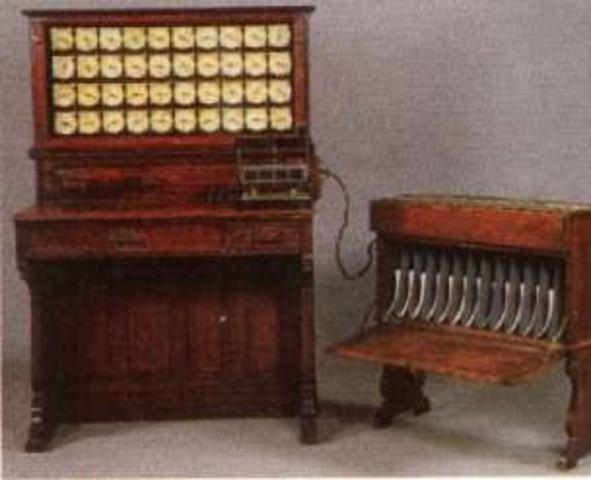 Maquina tabuladora eléctrica
