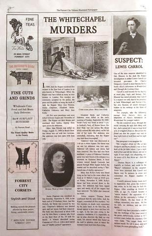 Mary Anne Nichols Murdered