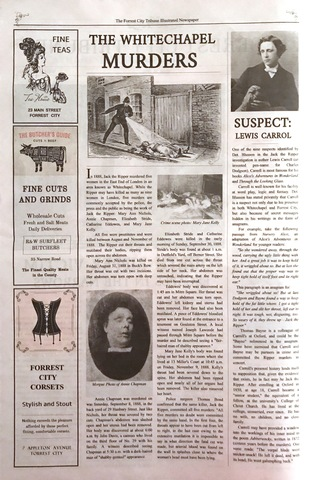 Mary JaneKelly Murdered