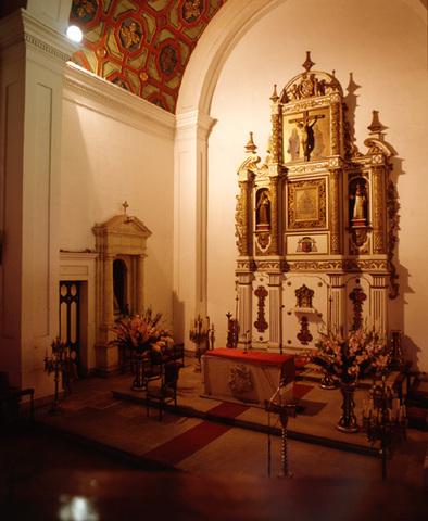 Terminación de la capilla