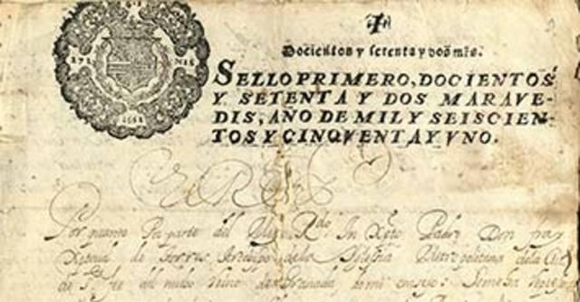 Documento más antiguo