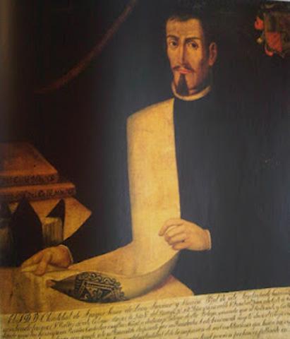 Primer rector Cristobal de Araque