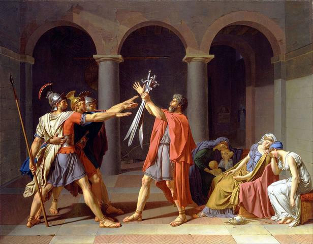 El juramento de los Horacios, David