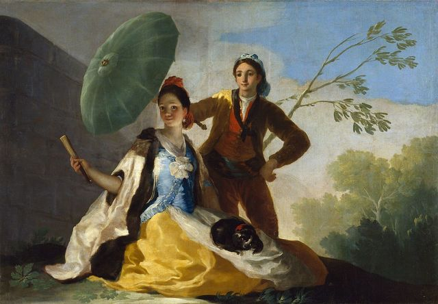 El Quitasol, Goya