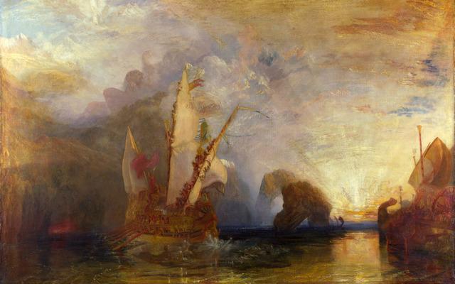Ulises burla a Polifemo, Turner