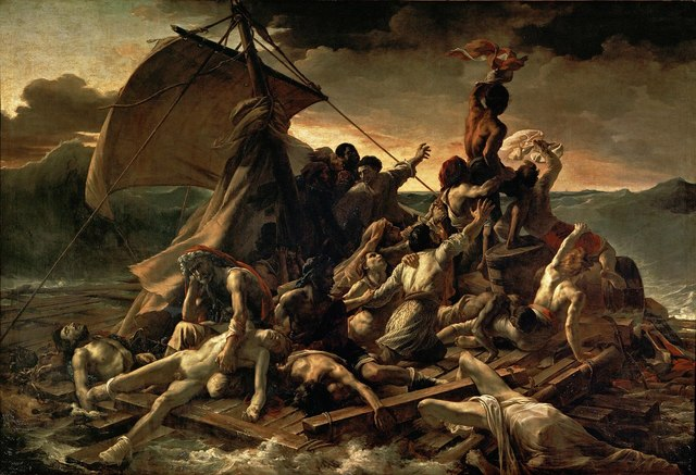 La balsa de la Medusa, Géricault