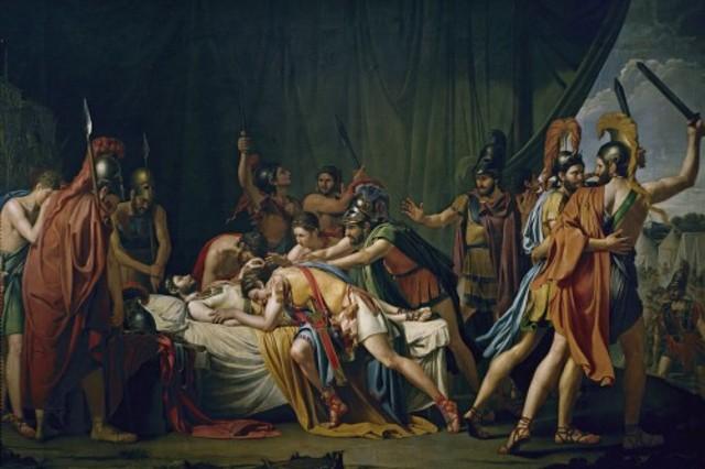 La muerte de Viriato, José de Madrazo