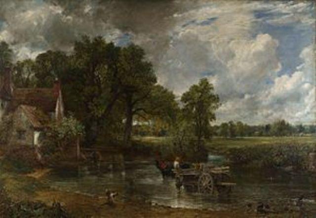 La carreta de Heno, Constable