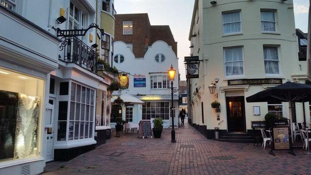 Guided walking tour of Brighton