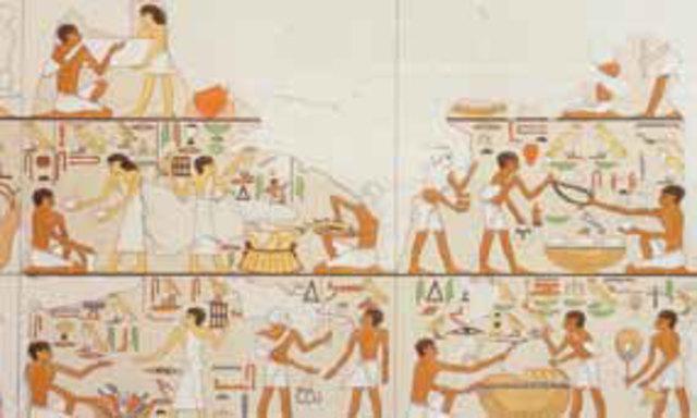 Begin ruilhandel in Egypte