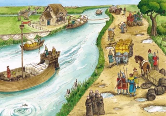 Het onstaan van steden in Egypte