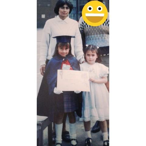 Mi hermana se gradúa de preescolar