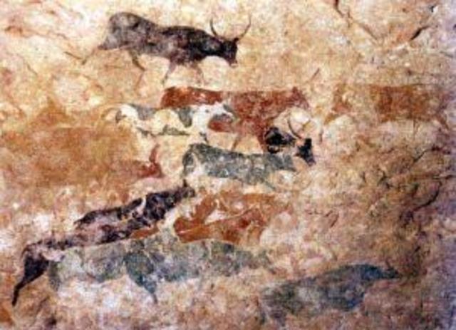 Grotschilderingen van jager-verzamelaars naar boer