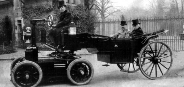 The Start of Assembling Cars