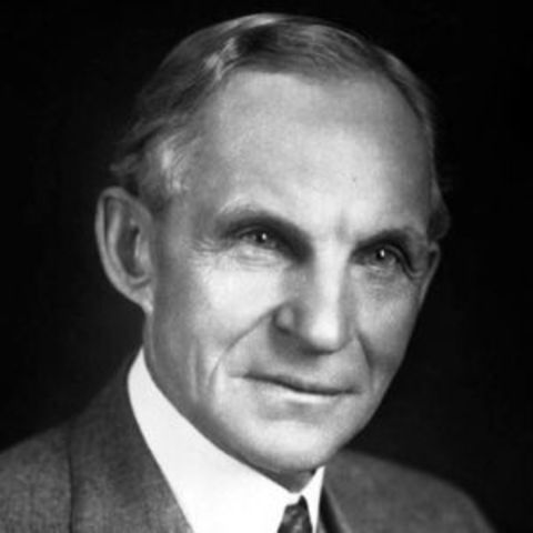 The Death of Henry Ford