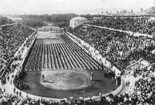 The First Modern Olympics in Athens