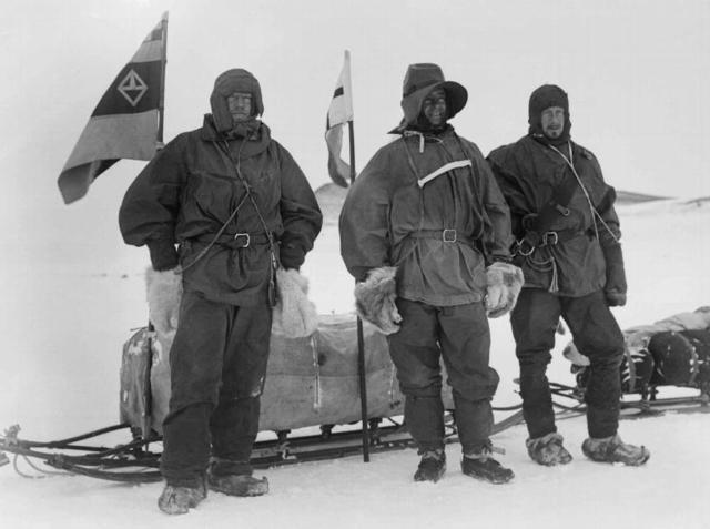 Scott, Shackleton and Wilson