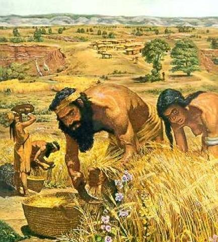 Landbouw word ontdekt