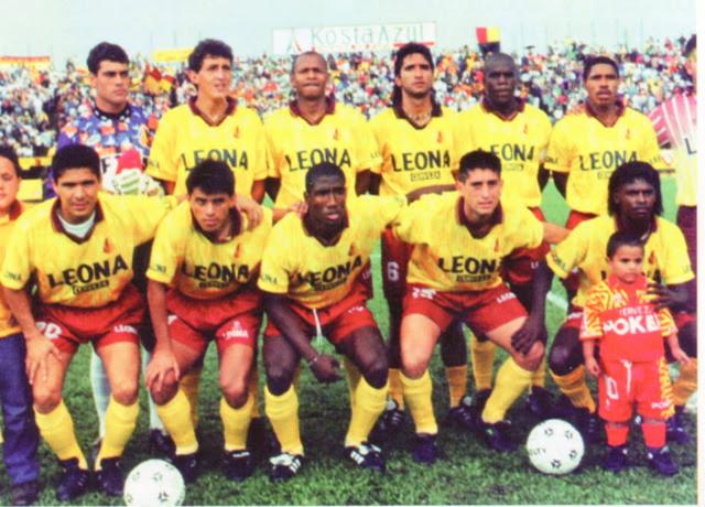 DEBUT EN LA COPA CONMEBOL