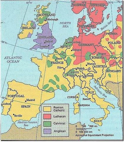 Spread of Reformation