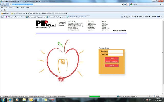 PIR begins