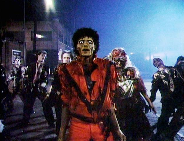Lanzamiento de Thriller