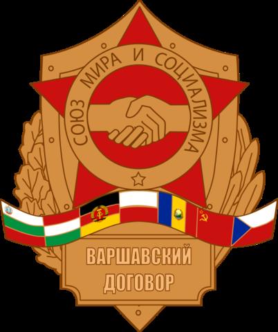 Warszawapakten undertegnes/opprettes