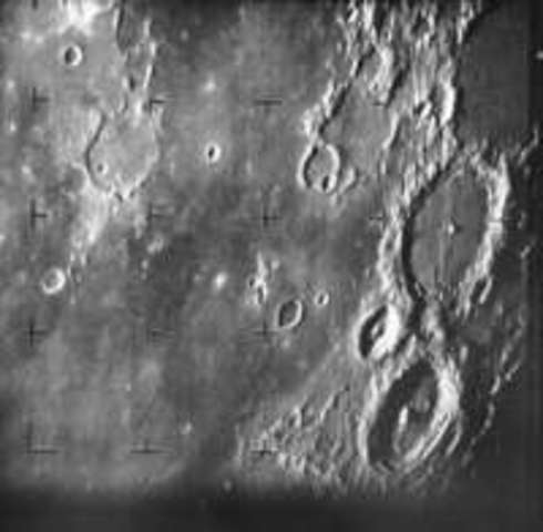 First Close-Range Photograph of the Moon