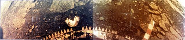 Venera 13 lands on Venus